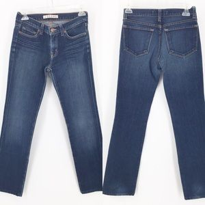 J Brand 8224 DKV Cigarette Leg Jeans Sz 27